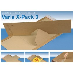 Varia X-Pack 3  format 305x235x105 mm