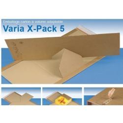 Varia X-Pack 5  format 350x320x80 mm