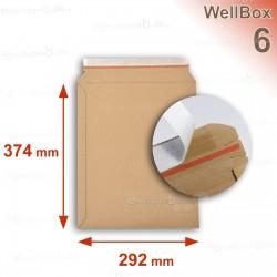 Enveloppe carton WellBox 6 format 262x374 mm
