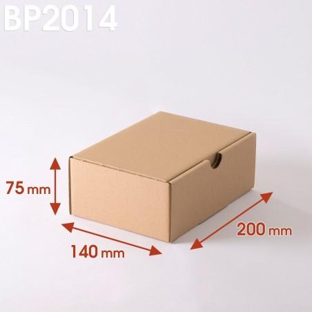 Boîte postale brune 200x140x75 mm