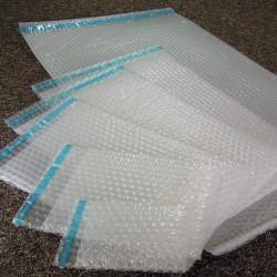 Sachets bulles d'air 400x600 mm avec rabat  adhésif