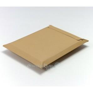 Enveloppe carton B-Box 7 MARRON format 320x455 mm