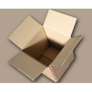 simple cannelure 140x140x140 mm 100 boîtes emballages cartons  n° 01A