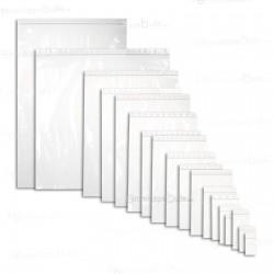 Sachets plastiques à fermeture ZIP 120x170mm standard 50µ