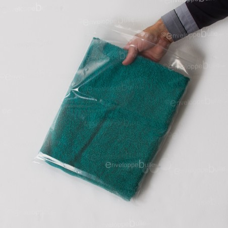 Sachets plastiques à fermeture ZIP 300x400mm  très résistants 90µ