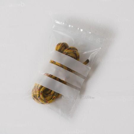 Sachets plastiques à fermeture ZIP 100x150mm  + 3 bandes blanches
