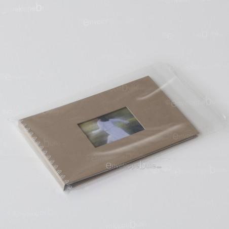 Sachets plastiques AUTOCOLLANTS 225x310mm standard 50µ