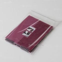 Sachets plastiques AUTOCOLLANTS 250x360mm renforcés épaisseur 70µ