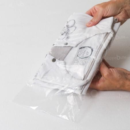 Sachets plastiques SANS fermeture 200x300mm épaisseur fine 25µ