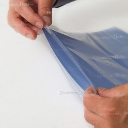 Sachets plastiques SANS fermeture 220x330mm épaisseur fine 25µ