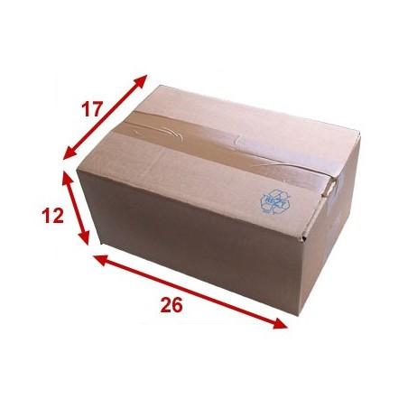 Boîte carton (N°26) format 260x170x120 mm
