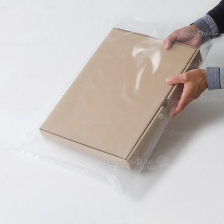 Sachets plastiques SANS fermeture 400x600mm épaisseur solide 100µ