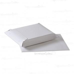 Enveloppe carton B-Box 1 BLANC format 176x250 mm