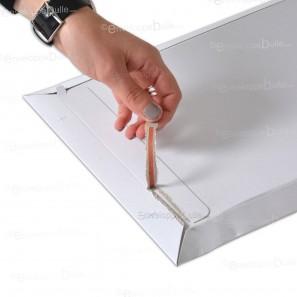 Enveloppe carton B-Box 2 BLANC format 215x270 mm