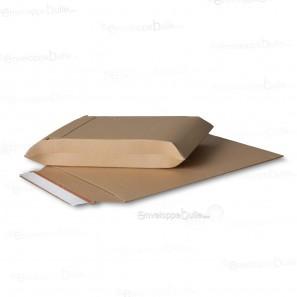Enveloppe carton B-Box 4 MARRON format 250x353 mm