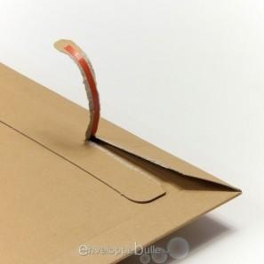 enveloppe carton b box 1 marron compatible lettre suivie lettre max la poste. Black Bedroom Furniture Sets. Home Design Ideas
