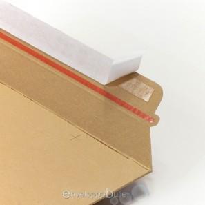 enveloppe carton b box 2 marron compatible lettre suivie lettre max la poste. Black Bedroom Furniture Sets. Home Design Ideas