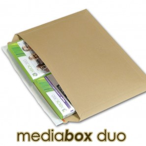 enveloppe carton media box duo compatible lettre suivie lettre max la poste. Black Bedroom Furniture Sets. Home Design Ideas