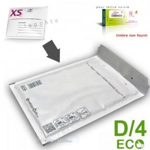 Enveloppes à bulles ECO D/4 format 180x260 mm lettre suivie la poste