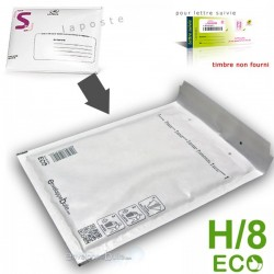 Enveloppes à bulles ECO H/8 format 270x3600 mm lettre suivie la poste