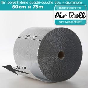 Rouleau De Film Bulle D 39 Air Isotherme 50cm X 75m