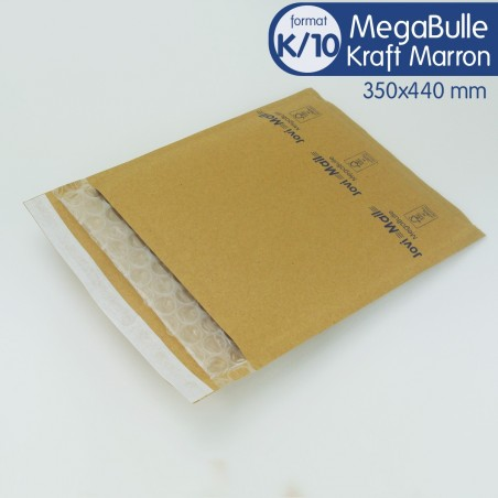 Enveloppes MEGABULLE K/10 format 350x440 mm