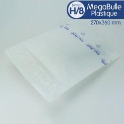 Enveloppes MEGABULLE plastiques H/8 format 270x360 mm