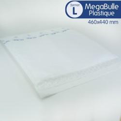 Enveloppes MEGABULLE plastiques L format 460x440 mm