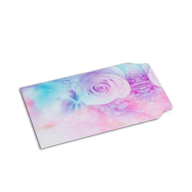 Enveloppe carton B-Box 4 imprimée ROSE format 250x353 mm