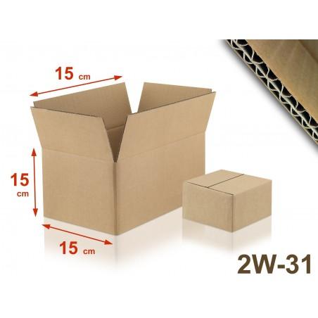 Carton double cannelure 2W-31 format 150 x 150 x 150 mm