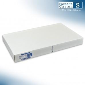 Boîte Pochette Carton S - hauteur 3cm - format 175x285 mm