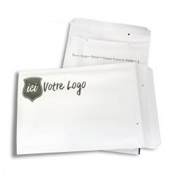 Enveloppes à bulles ECO avec votre impression personnalisée 1 couleur