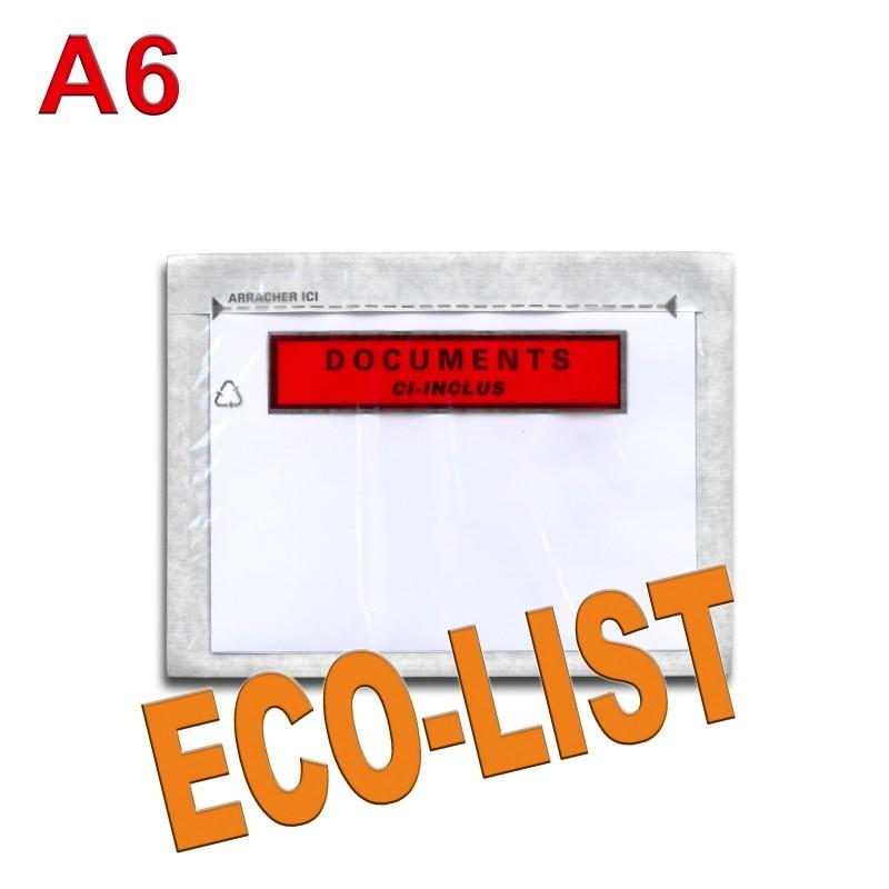 """Documents ci-inclus"" ECO-LIST A6"