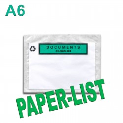 """Documents ci-inclus"" PAPER-LIST"" A6"