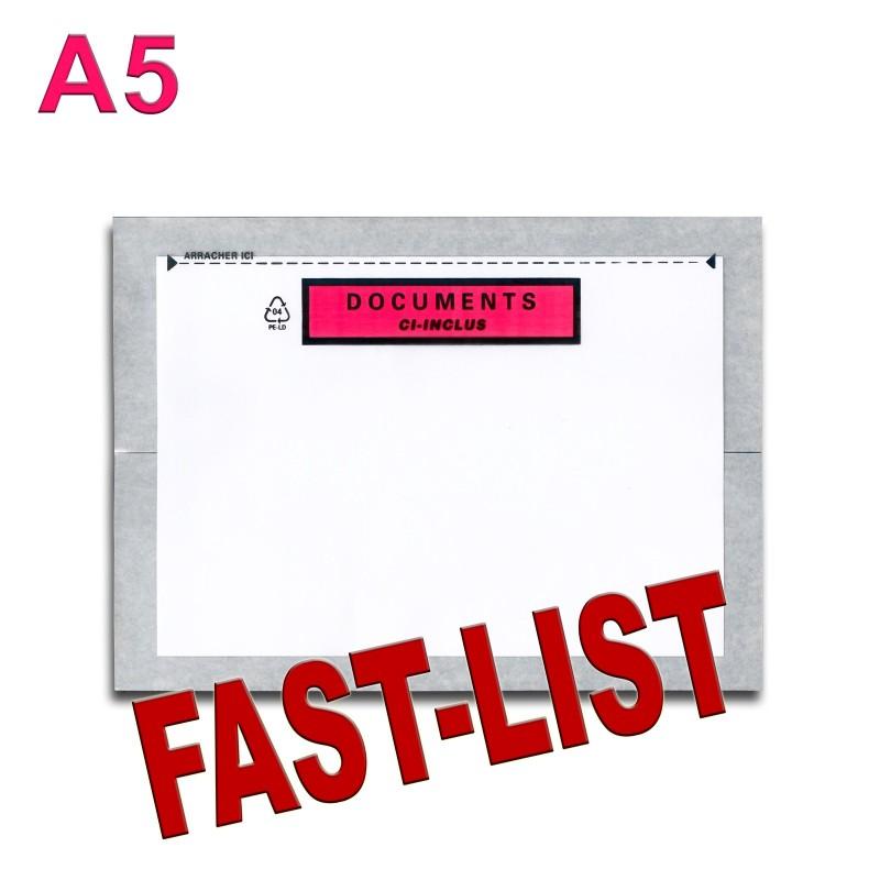 """Documents ci-inclus"" FAST-LIST"" A5"