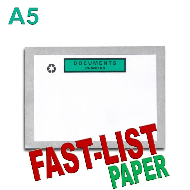 """Documents ci-inclus"" FAST-LIST PAPER"" A5"