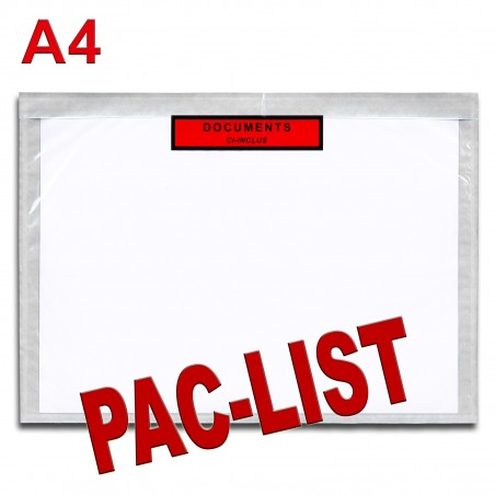 """Documents ci-inclus"" PAC-LIST"" A4"