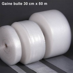 Gaine bulle d'air 30cm x 50m