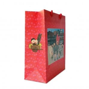 Sac cadeau - Lovely Elsa - coloris rouge