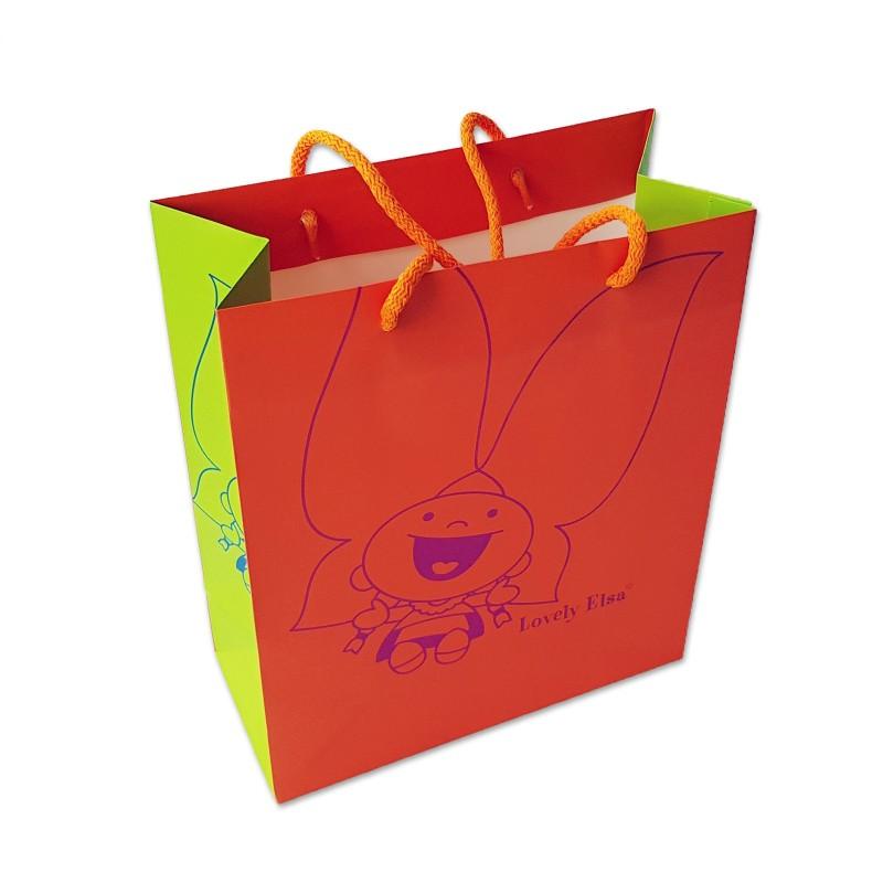 Sac cadeau - Lovely Elsa - coloris orange
