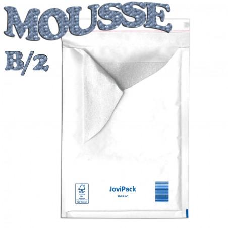 Enveloppes matelassées MOUSSE B/2 format 120x210 mm