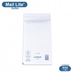 Enveloppes à bulles MAIL LITE blanches B/00 format 120x210 mm [type B/2]