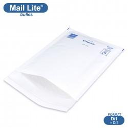 Enveloppes à bulles MAIL LITE blanches D/1 format 180x260 mm [type D/4]