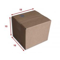 Boîte carton (N°5) format 180x160x150 mm