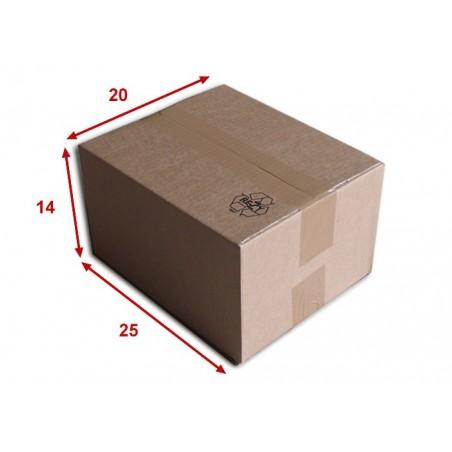 Boîte carton (N°22) format 250x200x140 mm