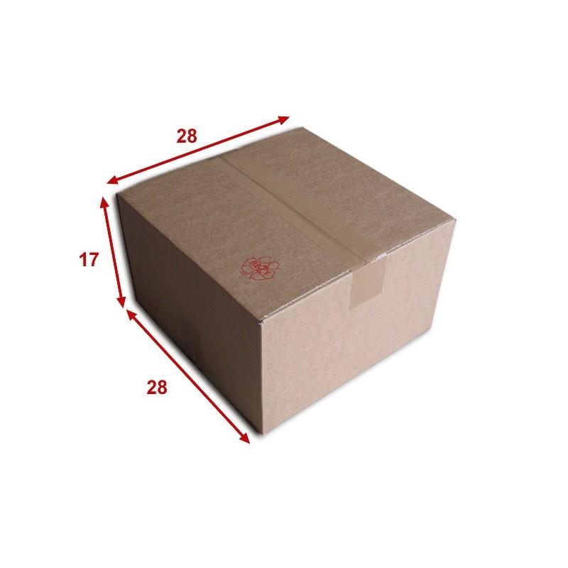 Boîte carton (N°30) format 280x280x170 mm