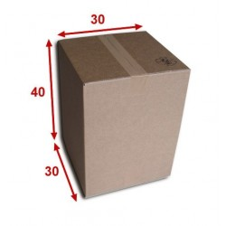 Boîte carton (N°32B) format 300x300x400 mm