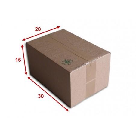 Boîte carton (N°34) format 300x200x160 mm