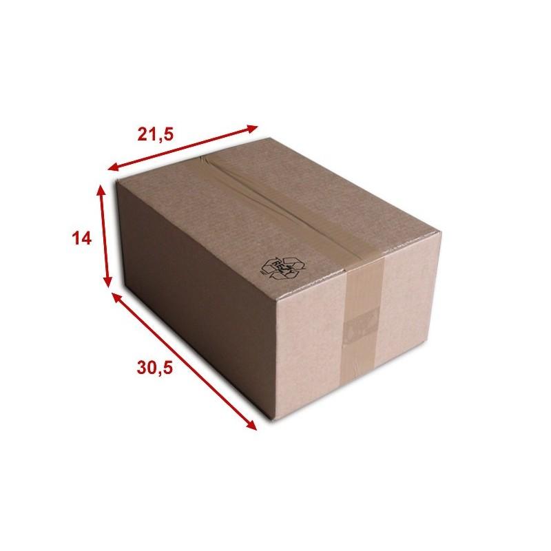 Boîte carton (N°36) format 305x215x140 mm