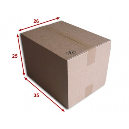Boîte carton (N°46A) format 350x260x250 mm